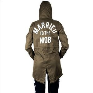 Married to the Mob Green Jacket